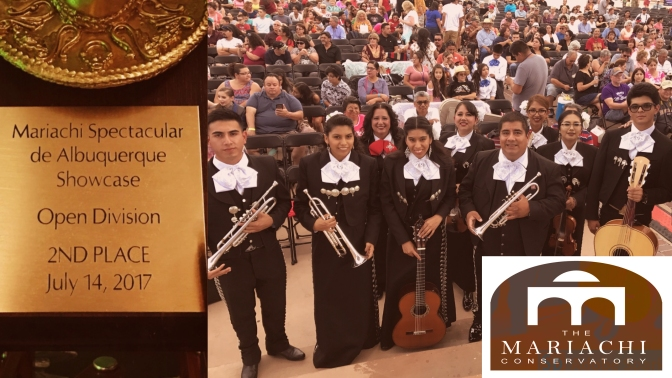 The Mariachi Conservatory Youth Ensemble Scores big in Albuquerque, New Mexico!